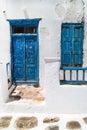 Traditional greek house on Mykonos island, Greece Royalty Free Stock Photo