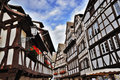 Traditional Half-Timbered Houses Stock Photo