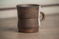 Traditional handcrafted mug perfect for tea coffee or beer Royalty Free Stock Photo