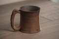 Traditional handcrafted mug perfect for tea coffee or beer Stock Image