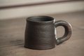 Traditional handcrafted mug perfect for tea coffee or beer Royalty Free Stock Images