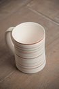 Traditional handcrafted mug perfect for tea coffee or beer Royalty Free Stock Photos