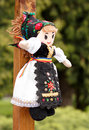 Traditional handmade doll Royalty Free Stock Photo