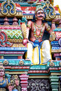 Traditional Hindu temple Royalty Free Stock Images