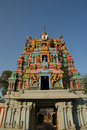 Traditional Hindu temple, India, Kerala Stock Photography
