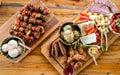 Traditional Home made Romania and Moldova food Royalty Free Stock Photo