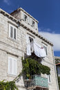 Traditional house in dubrovnik croatia view at the Stock Photos