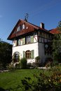 Traditional house in Germany Royalty Free Stock Image