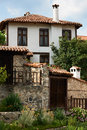 Traditional house from Zlatograd, Bulgaria Stock Photography