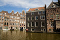 Traditional houses, Amsterdam Royalty Free Stock Photo
