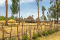 Traditional houses in Ethiopia, Africa