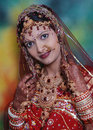 Traditional Indian bride Royalty Free Stock Photos