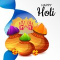 Traditional Indian Festival Holi Celebration.