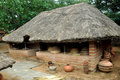 Traditional indian hut Royalty Free Stock Photo