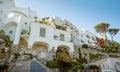 Traditional italian architecture on Capri island in Italy Royalty Free Stock Photo