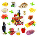 Traditional italian food Stock Photo