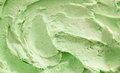 Traditional Italian pistachio ice-cream Royalty Free Stock Photo
