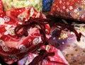 Traditional japanese bag Royalty Free Stock Photo