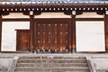 Traditional japanese door tennoji temple osaka Royalty Free Stock Photos