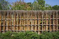 Traditional Japanese fence. Stock Photography