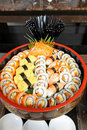 Traditional japanese food, sushi Royalty Free Stock Images