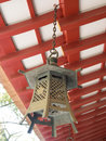 Traditional japanese lantern in japan Royalty Free Stock Images