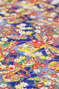 Traditional Japanese pattern paper Royalty Free Stock Photo