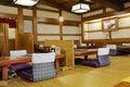 traditional japanese style interior restaurant image