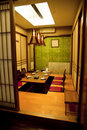 Traditional Japanese style room Royalty Free Stock Photos