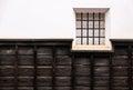 Traditional Japanese window Royalty Free Stock Photo