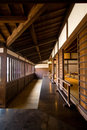Traditional Japanese wooden house Royalty Free Stock Photo