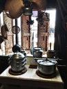 Traditional kitchen interior. Royalty Free Stock Photo
