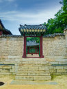 Traditional korean architectural style seoul south korea Royalty Free Stock Photography