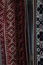 Traditional Latvian belts are belts are made with yarn, precious artefacts, variety of colors, different in Latvian regions.
