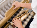 Traditional loom Stock Photography