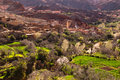 Traditional moroccan village berber in atlas mountains morocco africa Royalty Free Stock Photography