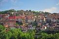 Traditional old houses of Veliko Tarnovo Royalty Free Stock Photo