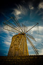 Traditional old windmill Stock Images