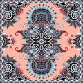 Traditional ornamental floral paisley bandanna you can use this pattern in the design of carpet shawl pillow cushion Stock Photos