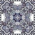 Traditional ornamental floral paisley bandanna you can use this pattern in the design of carpet shawl pillow cushion Royalty Free Stock Photo