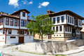 Traditional Ottoman Houses Royalty Free Stock Photo