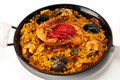 Traditional Paella Stock Images