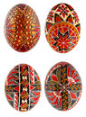 Traditional painted Easter eggs Stock Photography