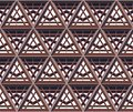 Traditional persian ornament seamless vetor pattern Royalty Free Stock Images