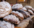 Traditional polish bread delicious floury baked Royalty Free Stock Images