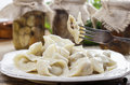 Traditional polish dumplings Royalty Free Stock Photos