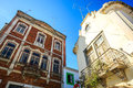 Traditional portuguese houses Royalty Free Stock Photo