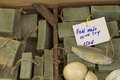 Traditional pure olive oil soap from greece Royalty Free Stock Photo