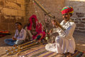 Traditional Rajasthani musician