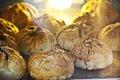 Traditional roast pastry bun BBQ - 'Siew Pau Royalty Free Stock Photo